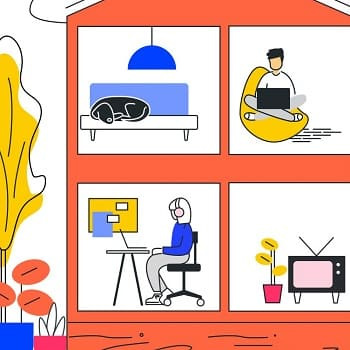 Home Office Setup Ideas From People Who Actually Work From Home image
