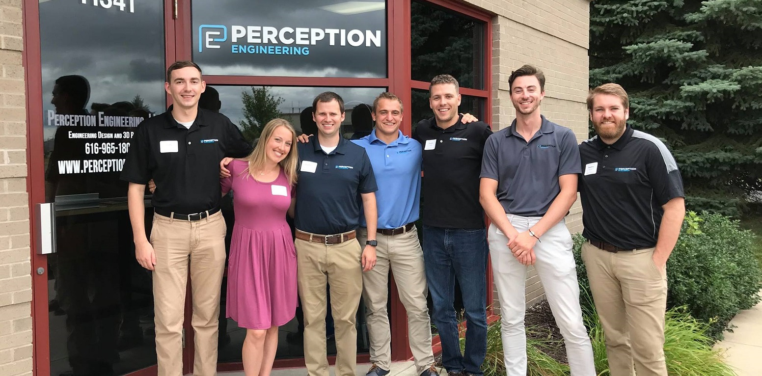 Perception Engineering team and their office