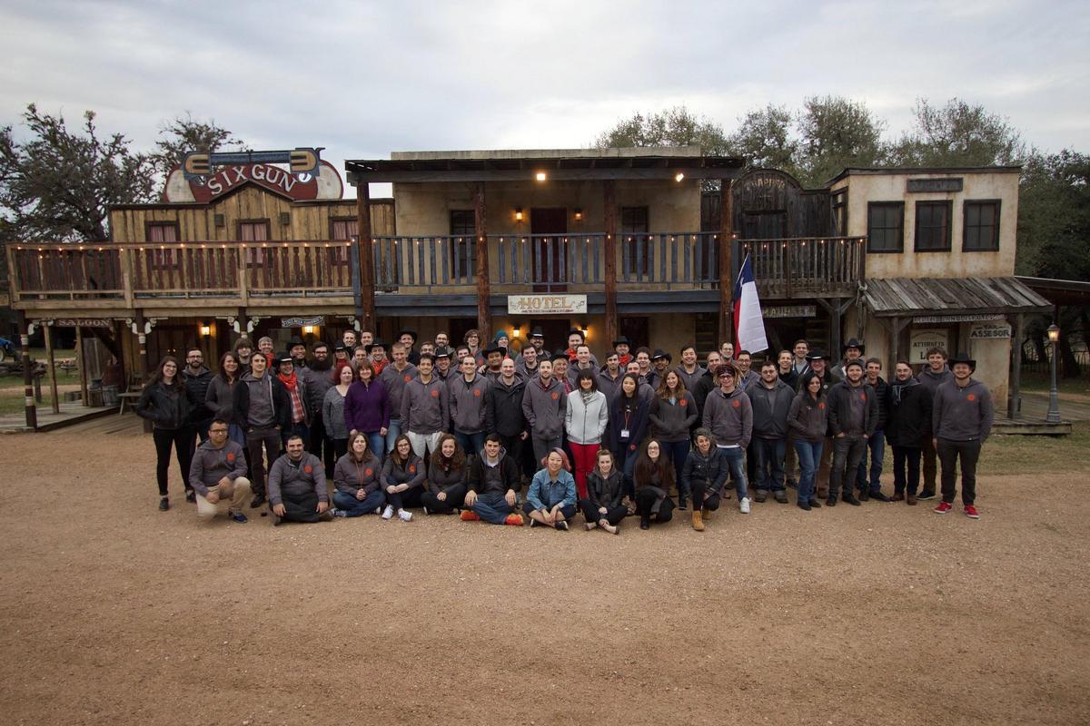 Zapier team retreat