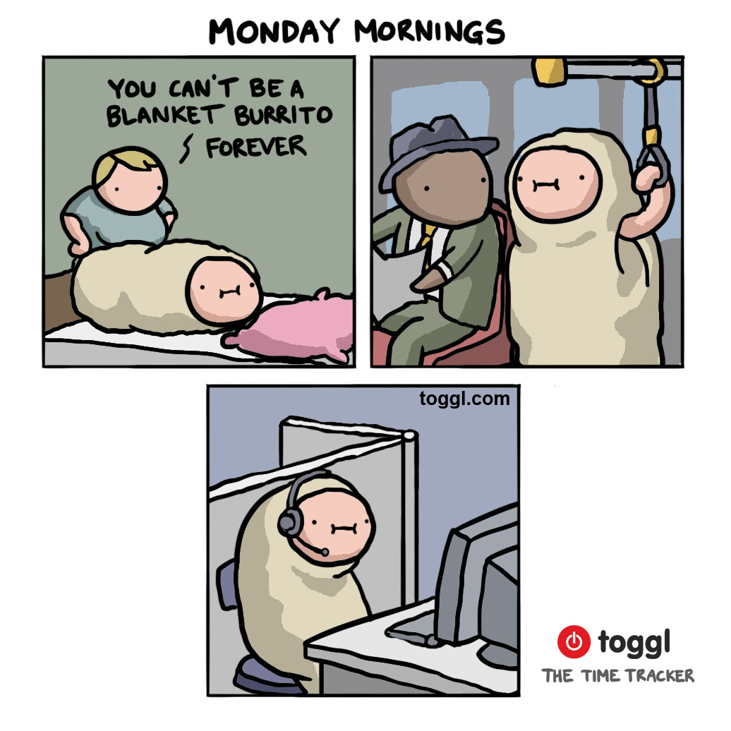 Monday Mornings Comic