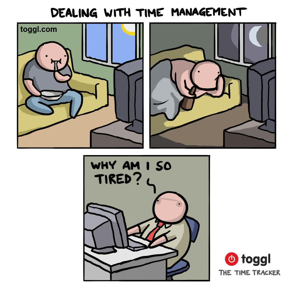 Time Management Comic