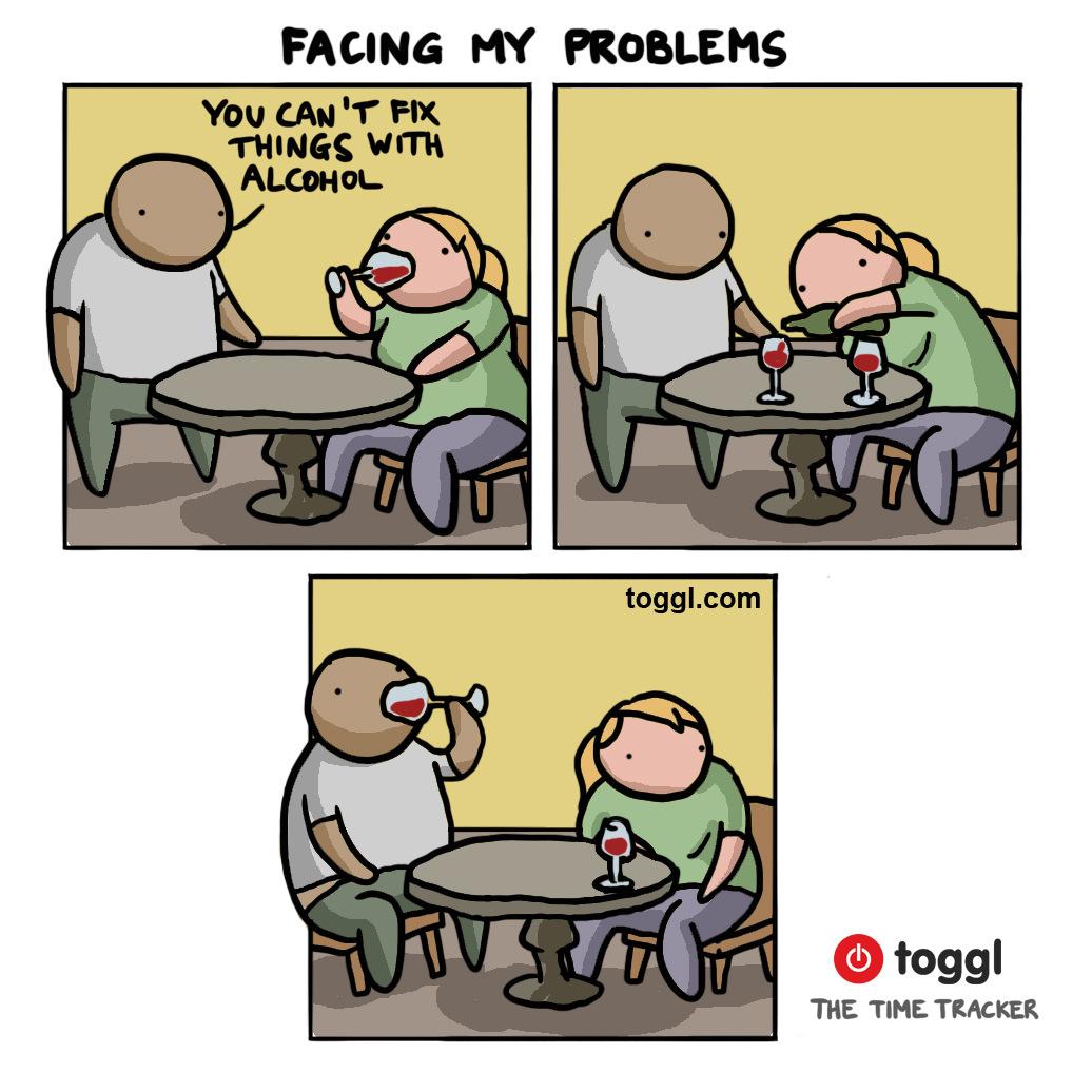 Solving Problems Comic