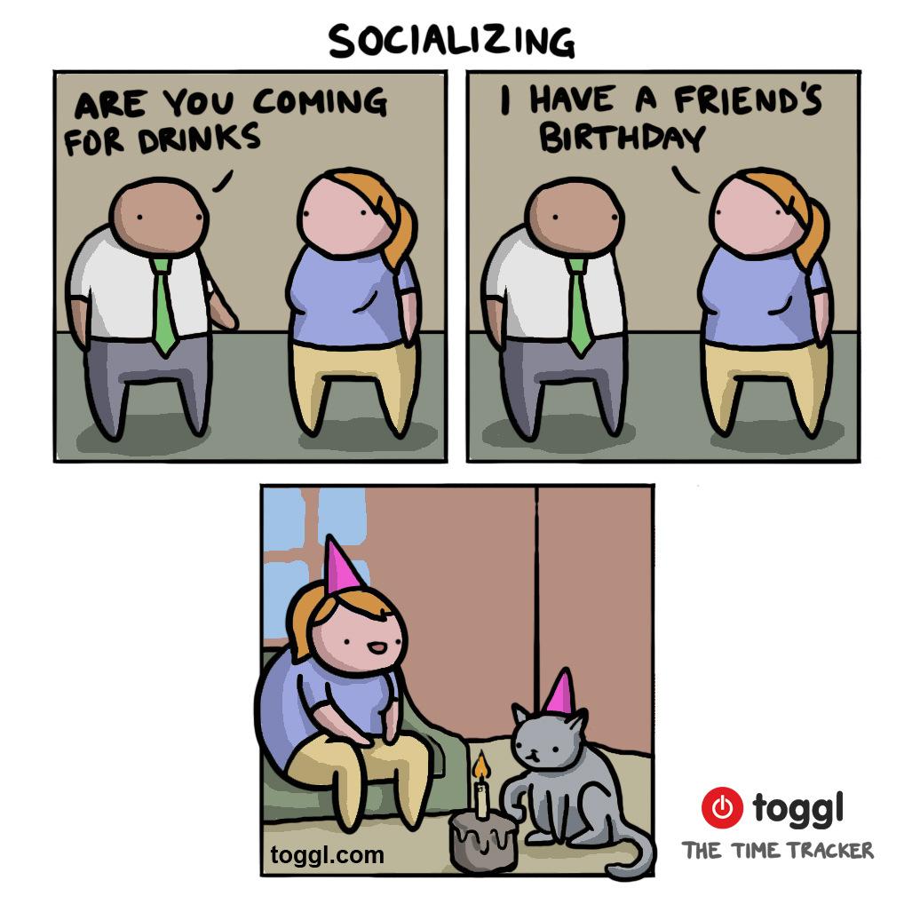 Socializing Comic