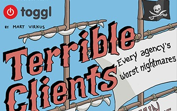 Terrible Clients Explained with Pirates (Infographic)