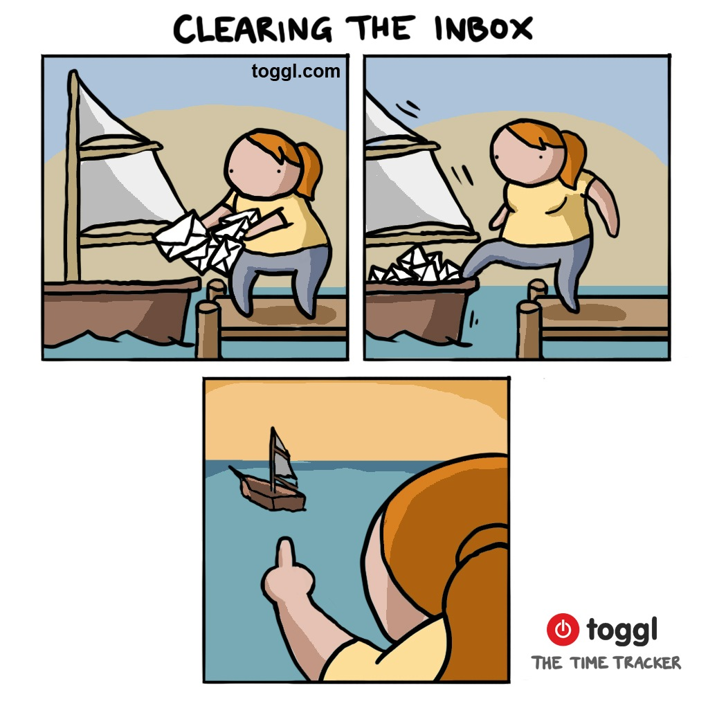 Clearing the Inbox Comic