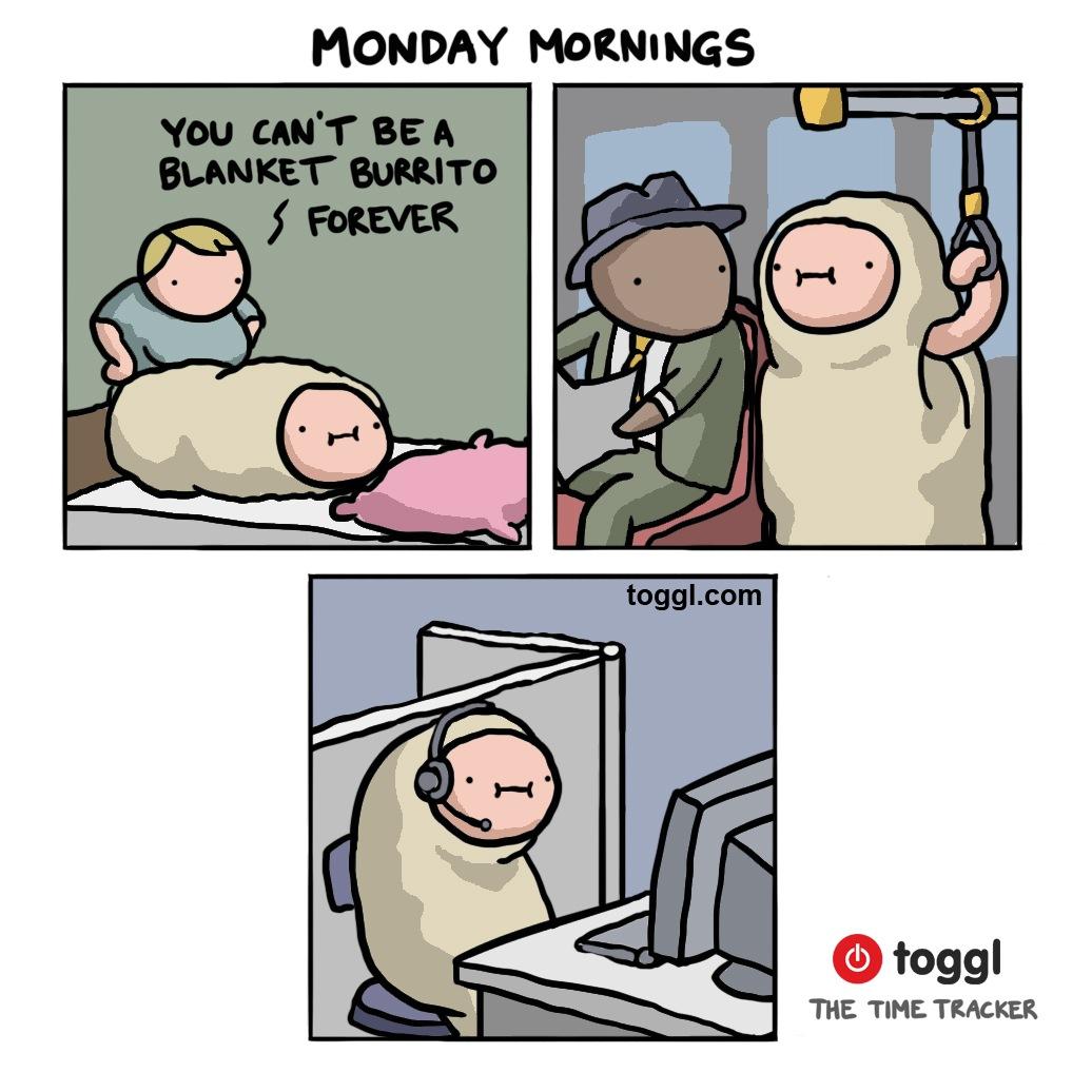 Monday Mornings Comic