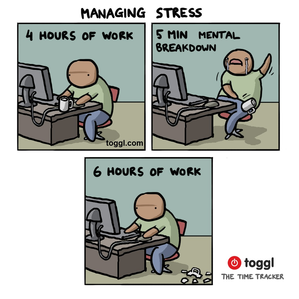 Managing Stress Comic