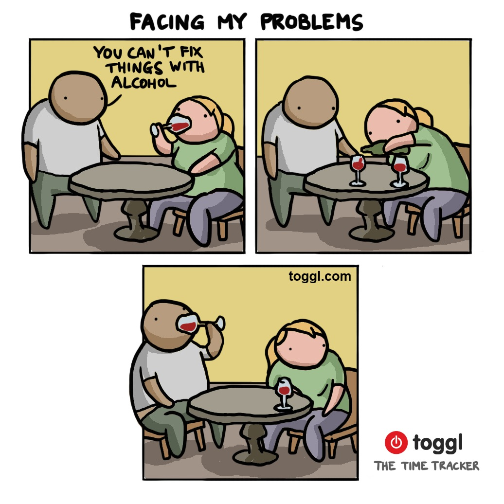 Solving Problems Comic