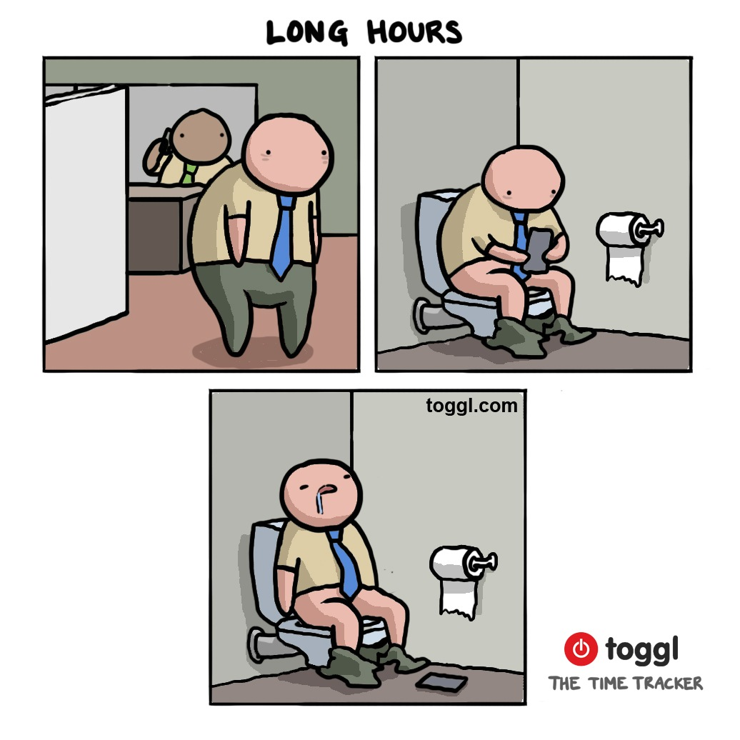 Long Hours Comic