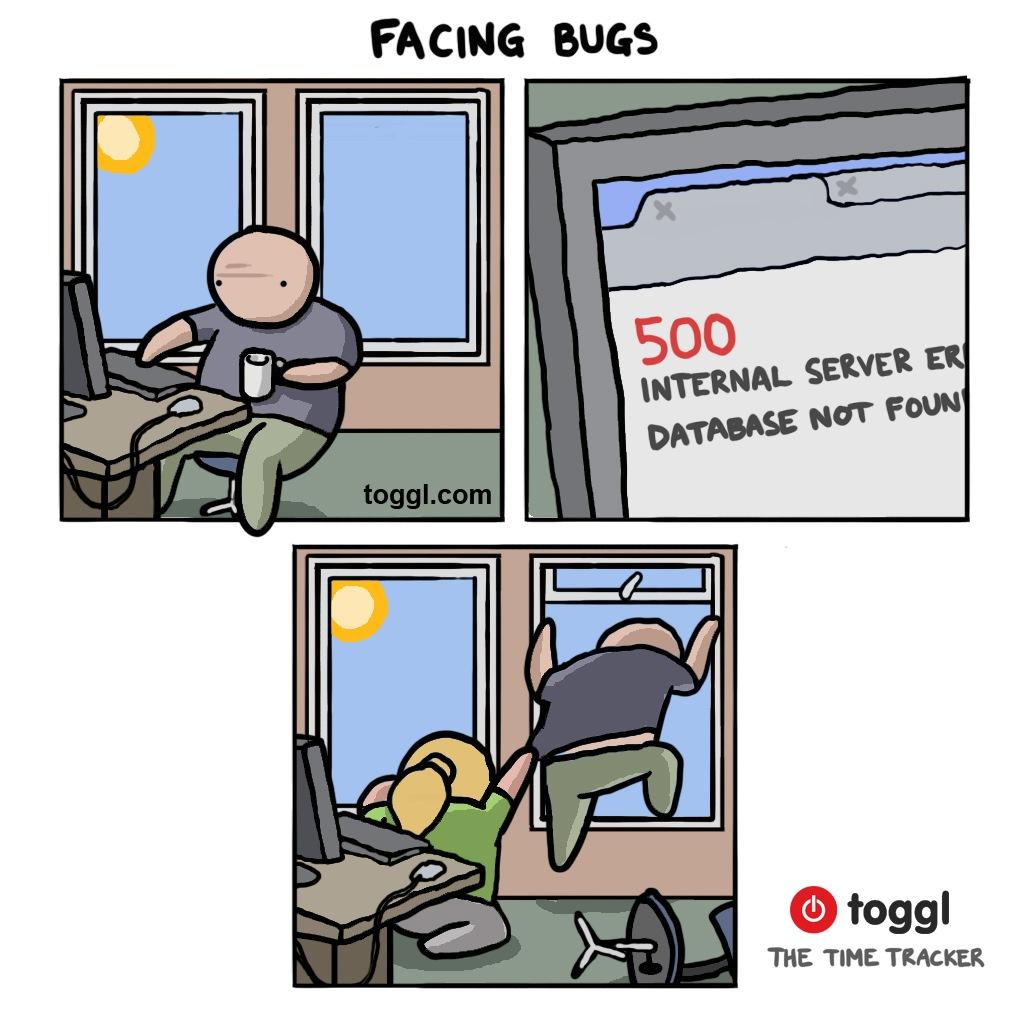 Facing Bugs Comic