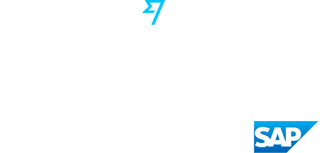 Company logos: Google, TransferWise, The Mom Project, ACLU, Square, SAP