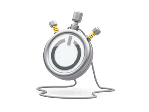 3D model of a stopwatch