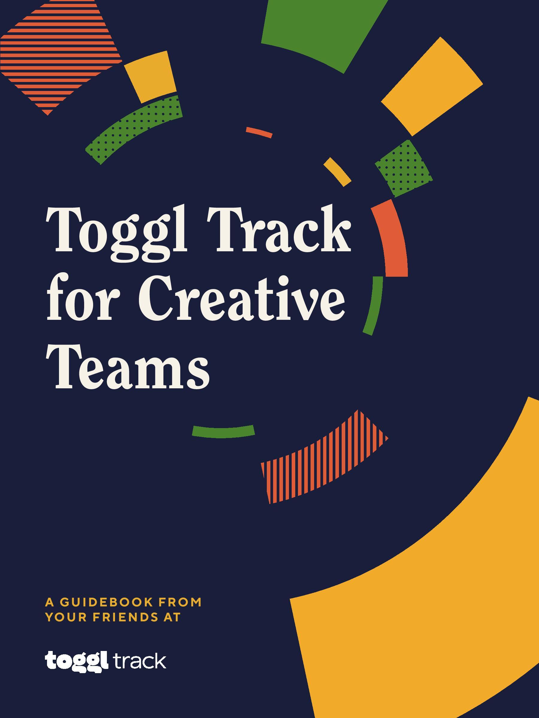 Toggl for Creative Teams ebook