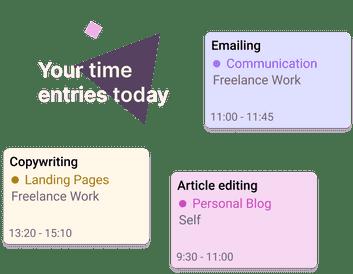 Toggl Track for freelancers