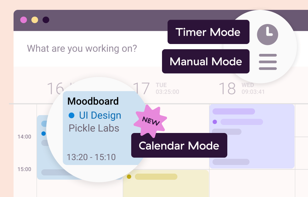 Screenshot for Stress-free time tracking