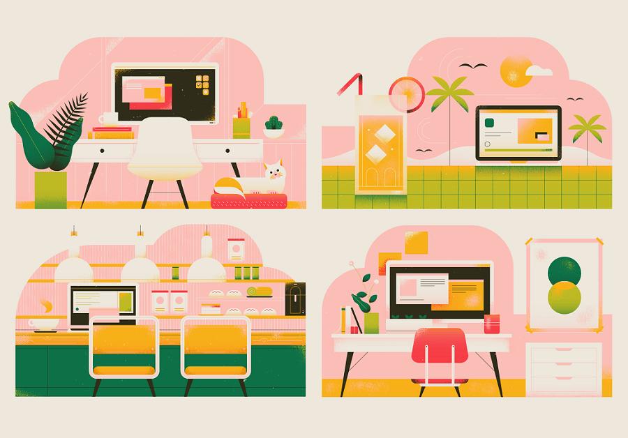 Toggl remote staff workspaces